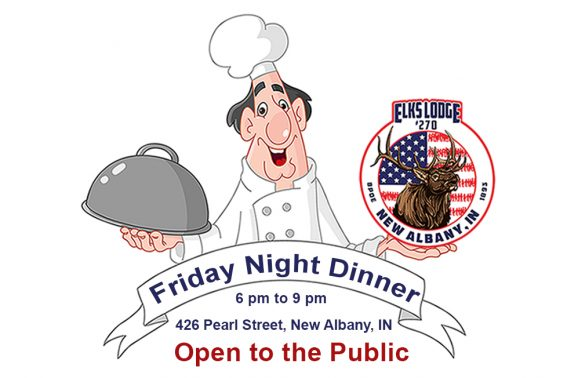 Friday Night Dinner at Elks Lodge 270