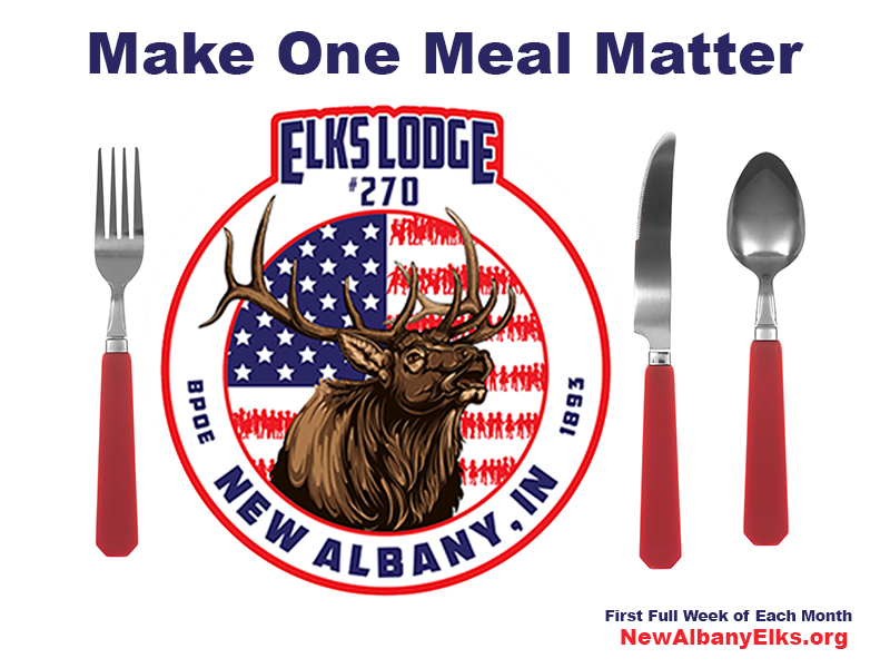 Make One Meal Matter at the Elks Lodge 270