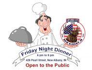 Friday Night Dinner at Elks Lodge 270