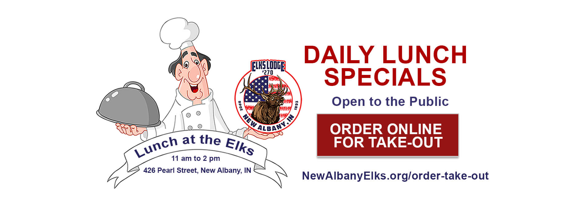 Lunch specials at New Albany Elks