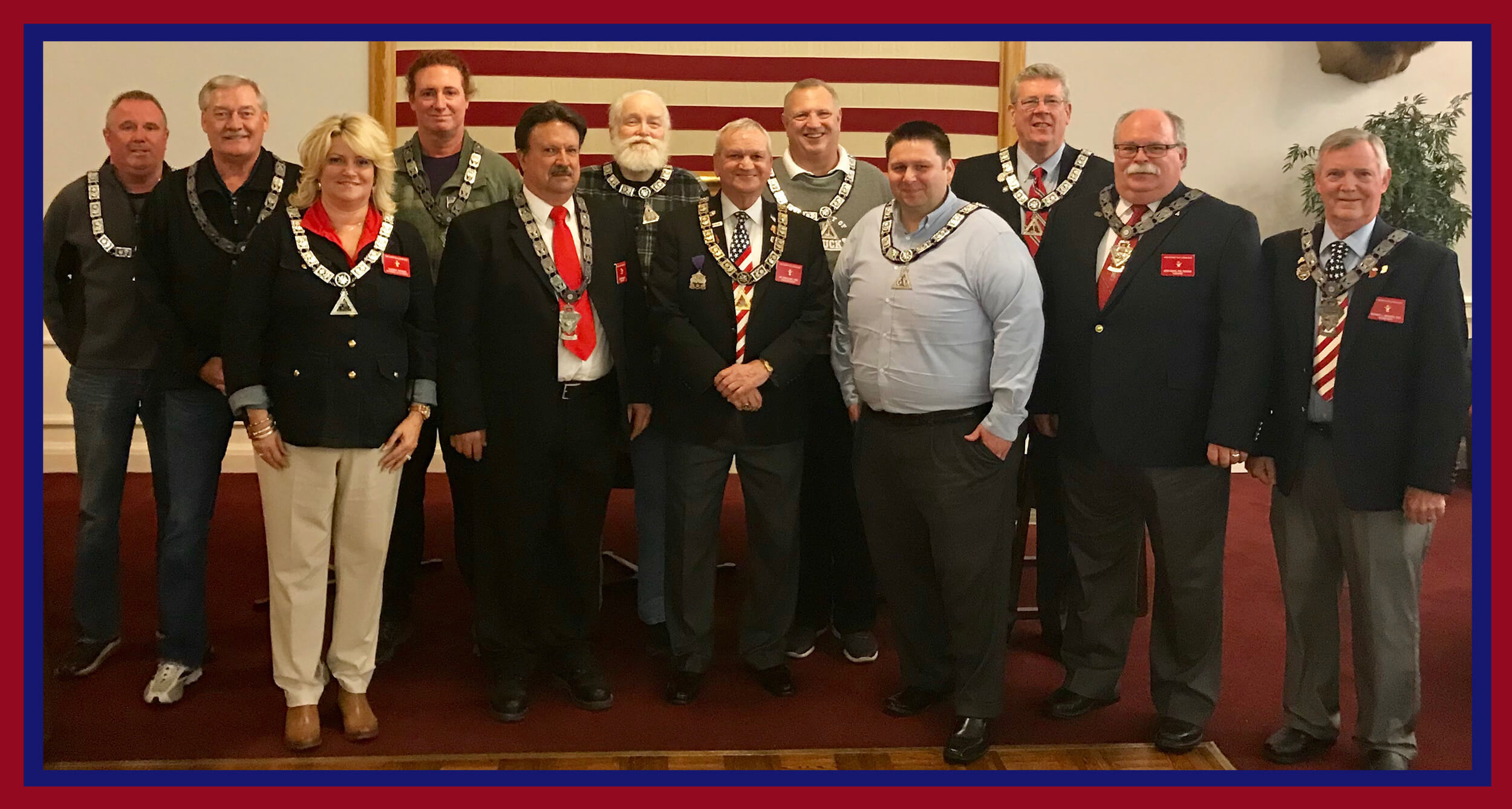 2018 - 2019 New Albany Elks Officers